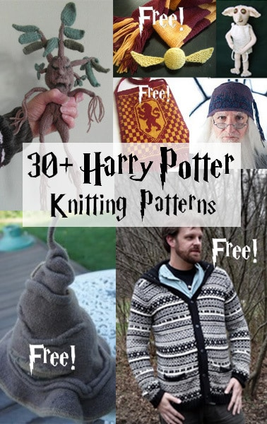 30+ Harry Potter Knitting Patterns/ by In The Loop Knitting