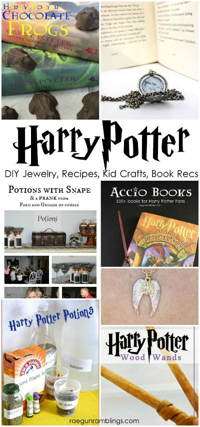 DIY Harry Potter Jewelry, Recipes, Kid Crafts & More / by Raegan Ramblings