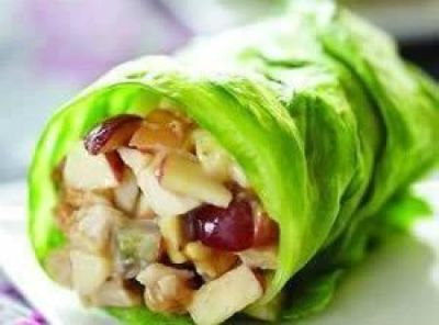 Chicken Apple Wraps / by Just a Pinch / Round up by Busy Mom's Helper