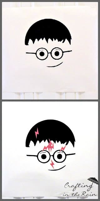 Pin the Scar on Harry Potter Game / by Crafting in the Rain / Round up by Busy Mom's Helper