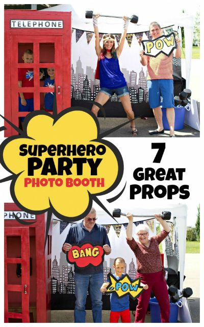 7 Great Super Hero Party Props / by Spaceships and Laser Beams / Round up by Busy Mom's Helper