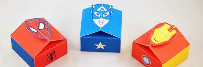 DIY Super Hero Gift Boxes / by M Gulin / Round up by Busy Mom's Helper