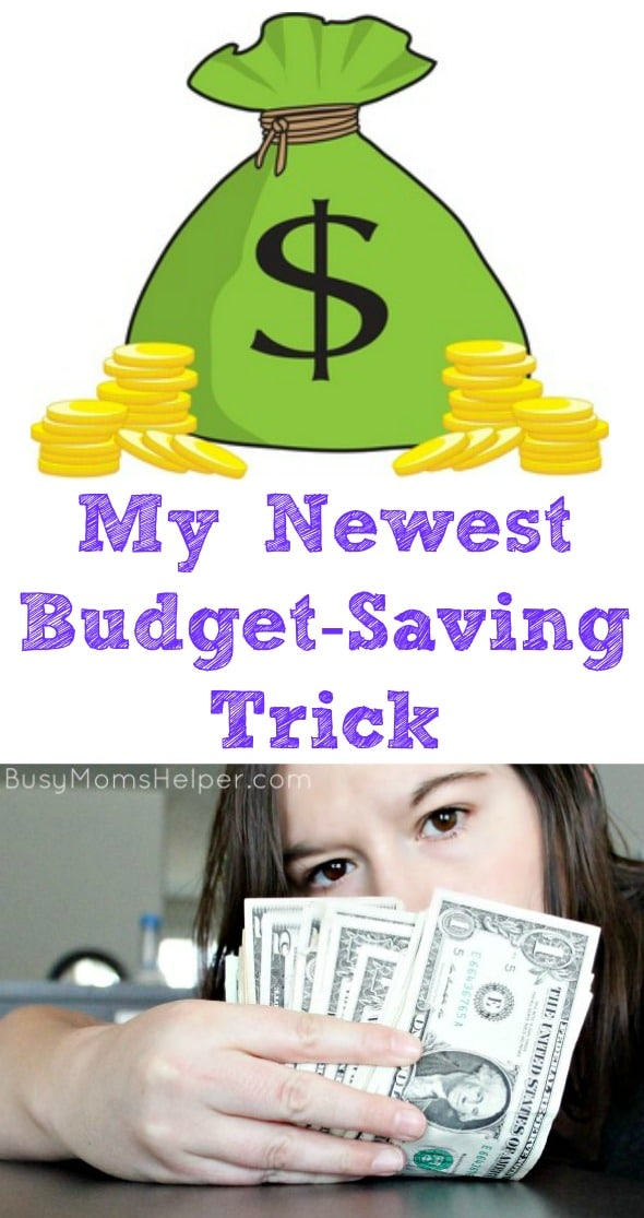 My Newest Budget-Saving Trick / by Busy Mom's Helper #ServeSomeGood #IC #ad