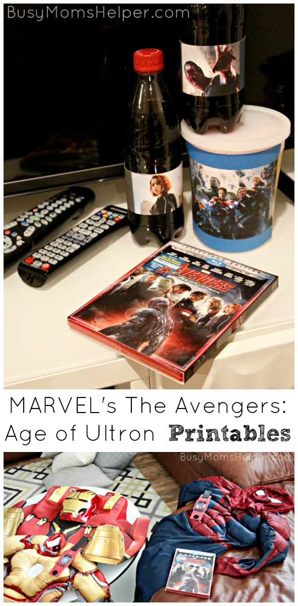 MARVEL's The Avengers: Age of Ultron Printables / by Busy Mom's Helper #AvengersUnite #ad