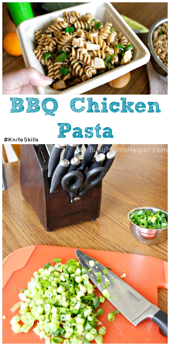 BBQ Chicken Pasta / by Busy Mom's Helper #KnifeSkills #IC #ad