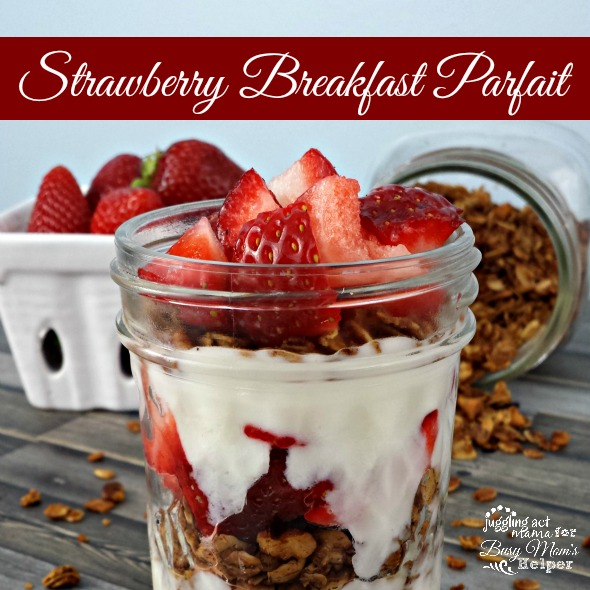 Strawberry Breakfast Parfait