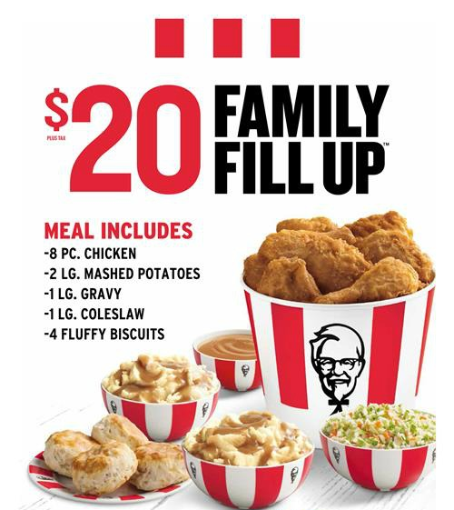 Give Yourself a Break with the KFC Family Fill-Up / by Busy Mom's Helper #KFCFamilyFillUp #ad @KFC