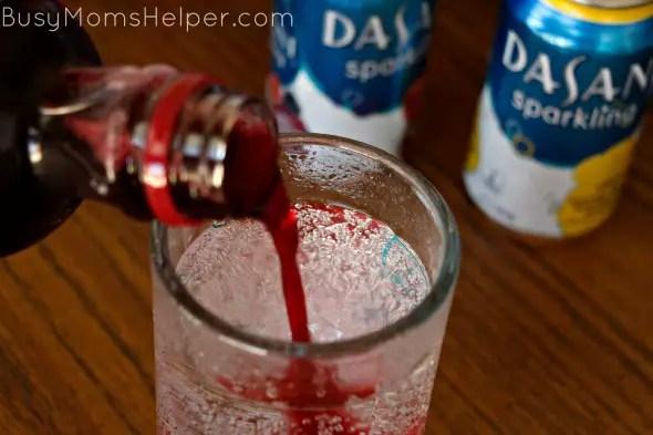 Pomegranate Lemonade & Fruity Sparkle / by BusyMomsHelper.com #SparklingHolidays #ad @DasaniWater