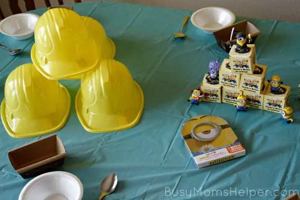 Minion Party with Free Printables / by BusyMomsHelper.com #MinionsMovieNight #ad