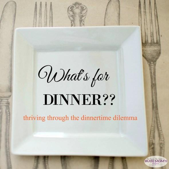 dinner dilemma