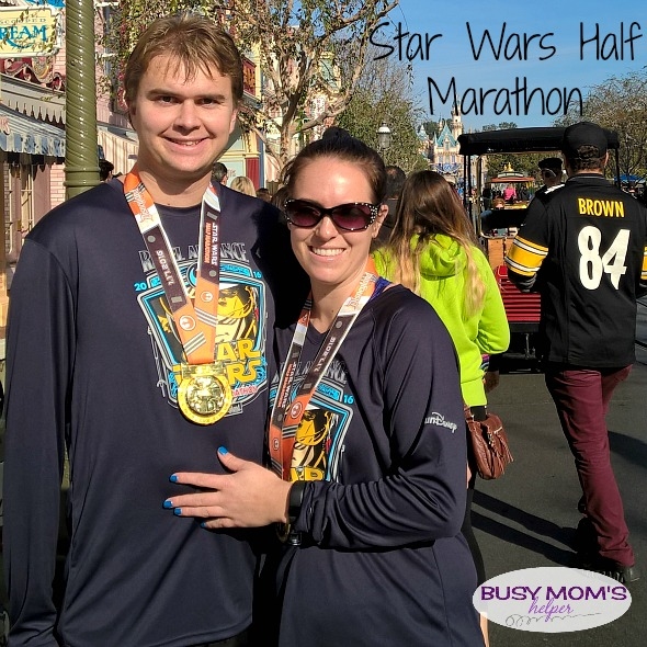 Star Wars Half Marathon by Nikki Christiansen for Busy Mom's Helper