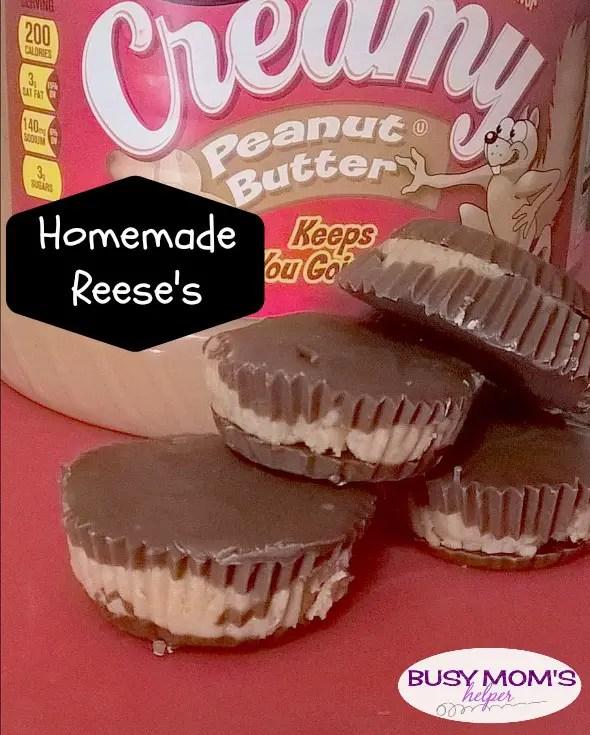 Homemade Reese's by Nikki Christiansen for Busy Mom's Helper