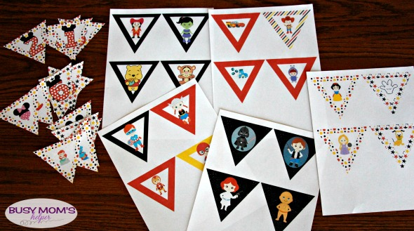 Printable Disney Banner / by BusyMomsHelper.com / Disney Countdown