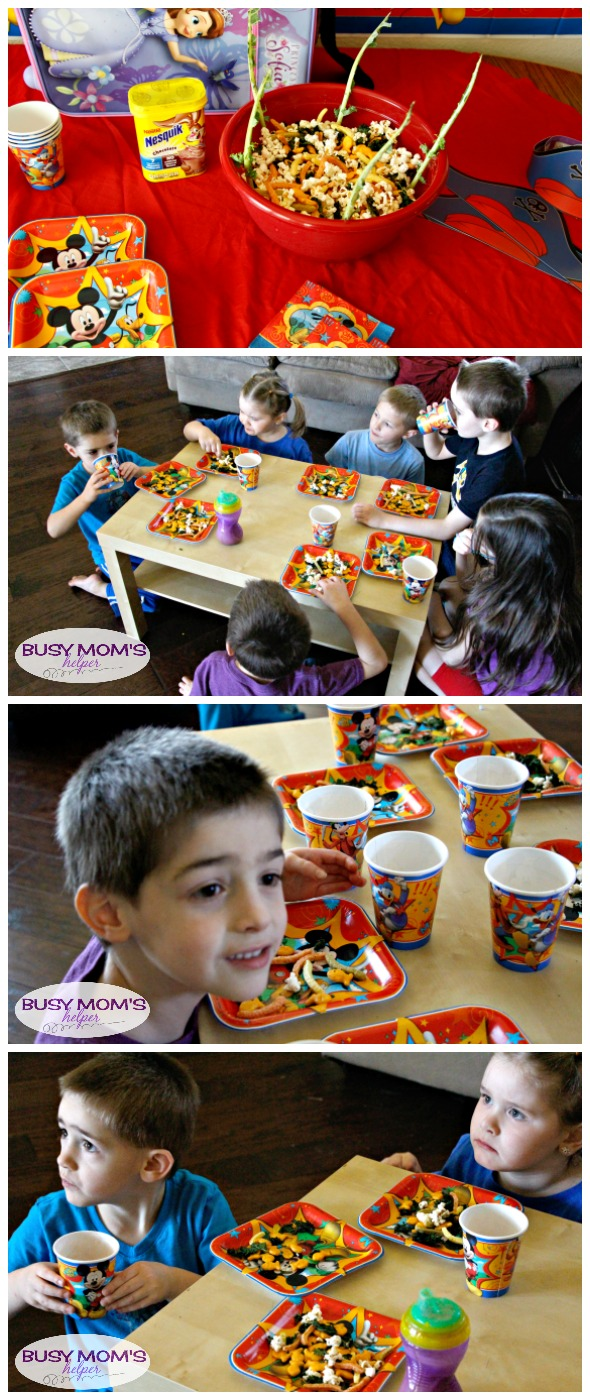 Easy Disney Kids Playdate Party / Walt Disney World Party / Disney themed playdate / by BusyMomsHelper.com #DisneyKids @DisneyMoms @DisneyWorld #spons