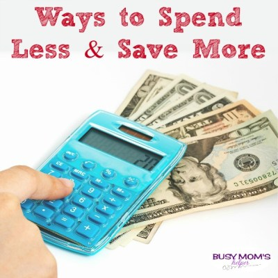 Easy Ways to Cut Your Budget / by BusyMomsHelper.com / tons of money saving tips to help you! Spend less and save more money