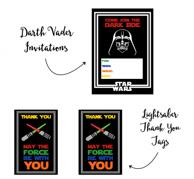 picture about Star Wars Thank You Cards Printable Free named Events Archives - Fast paced Mothers Helper