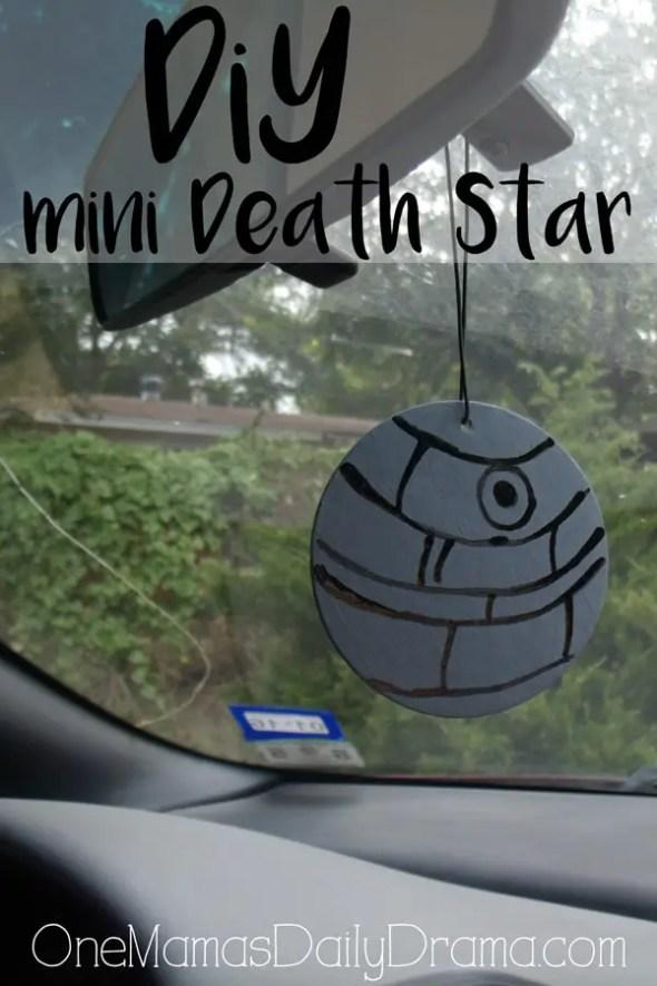 DiY mini Death Star | One Mama's Daily Drama