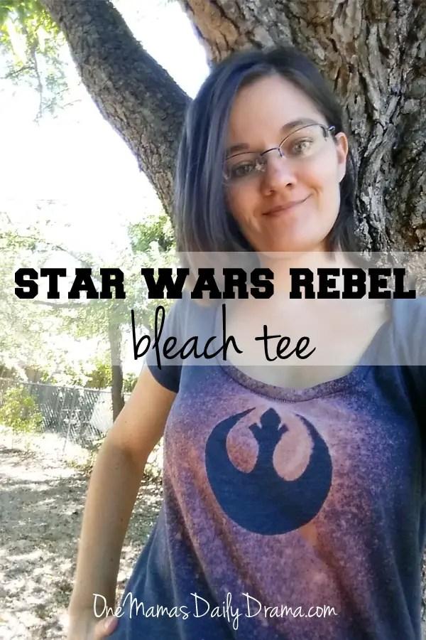 Star Wars Rebel Bleach Tee