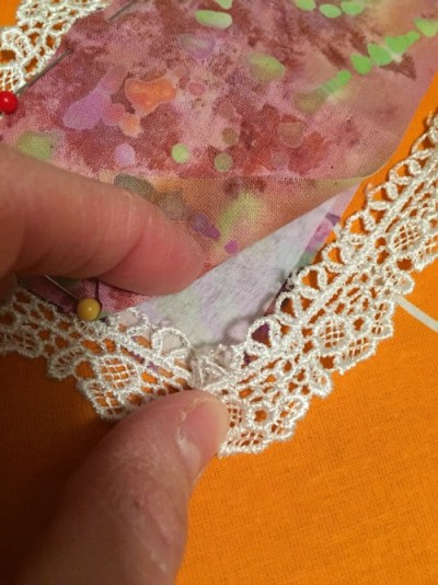 Fabric Scrap Bookmarks
