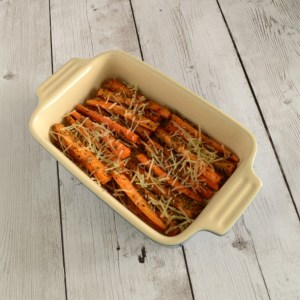 Italian Parmesan Roasted Carrots