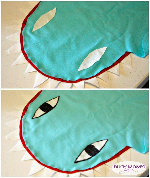 No Sew Shark Dog Costume / by BusyMomsHelper.com #ad #PawsToSavor
