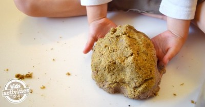 homemade kinetic sand recipe