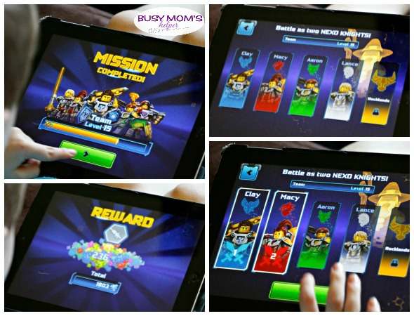 LEGO Nexo Knights App / by BusyMomsHelper.com / received a free viewing of the movie, but this review is all my own