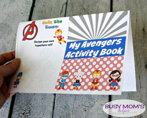 Superhero Activity Booklet / by BusyMomsHelper.com / Great printable superhero activity for road trips, family vacations, or running errands! #sponsored #packmorefun