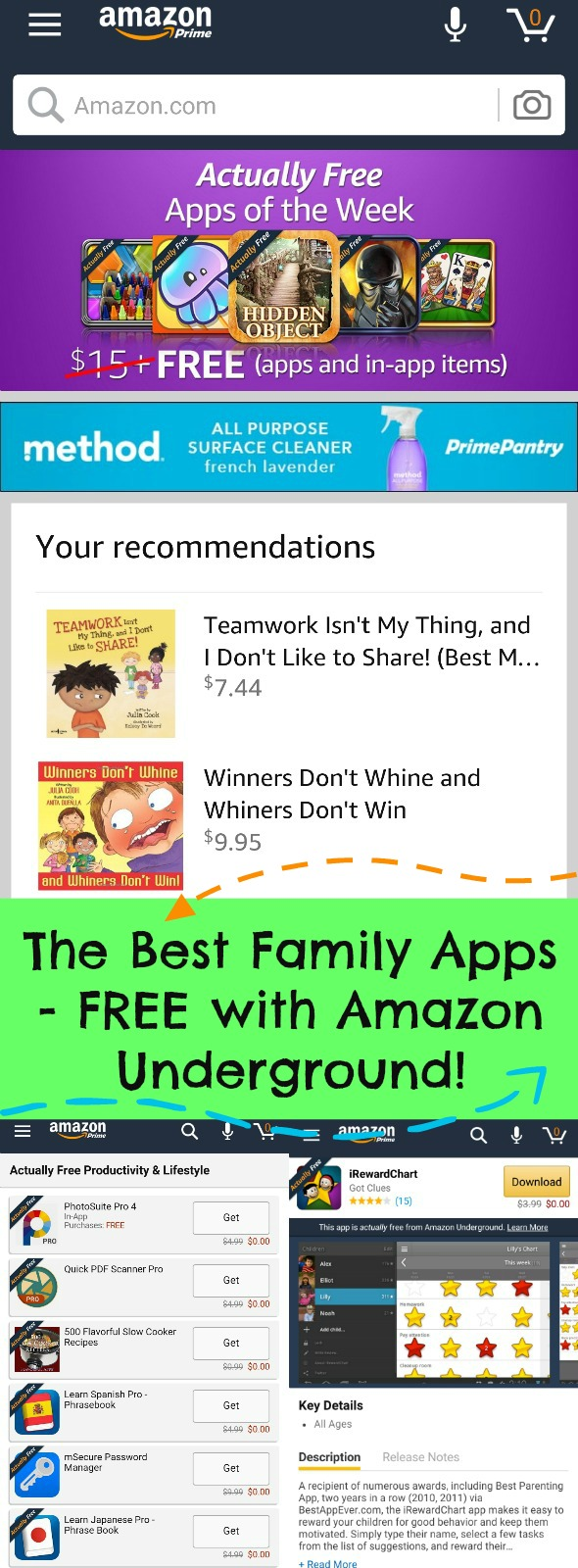 The Best Family Apps - FREE on Amazon Underground! #ad #AmznUnderground