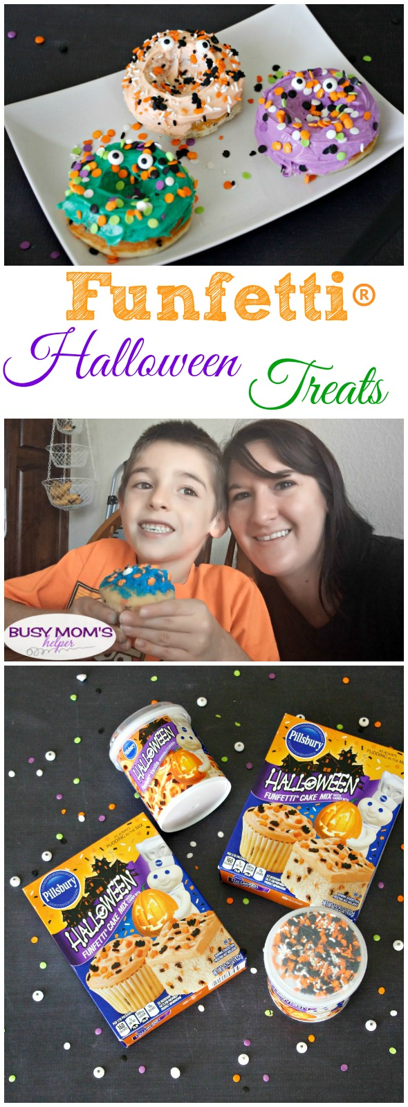 Mix Up a Moment with Funfetti® Halloween Treats #MixUpAMoment #ad