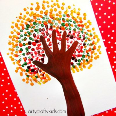 Handprint-Autumn-tree