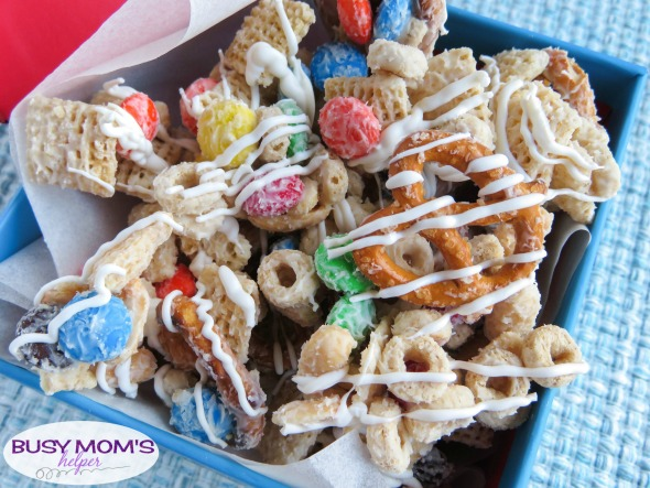 Christmas Snack Mix Recipe