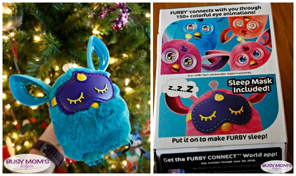 The Furby Connect is a perfect, interactive holiday gift idea great for the whole family! #FurbyConnect #IC #ad