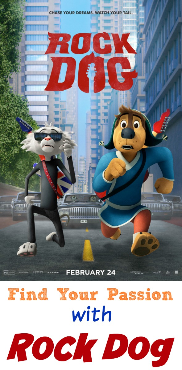 Find Your Passion with Rock Dog #RockDog