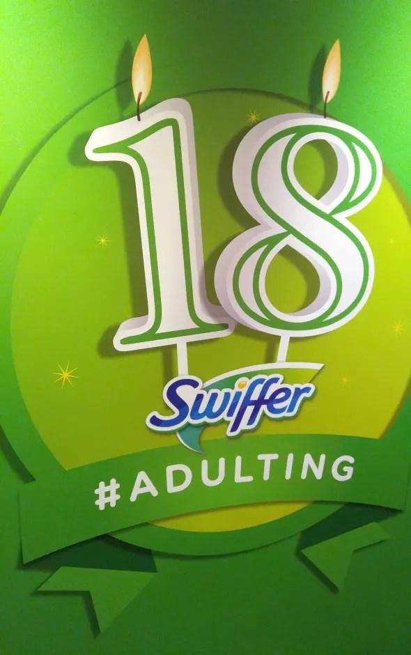 The Funniest #AdultingFail Stories from Swiffer's 18th Birthday Bash! #SwifferFanatic #GottaSwiffer #partner