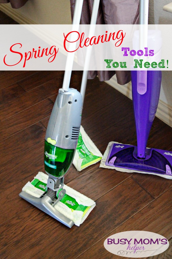 Spring Cleaning Tools You Need #ad #SwifferFanatic