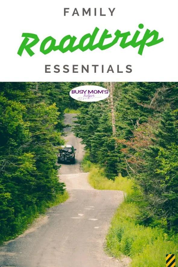 Family Roadtrip Essentials - Busy Mom's Helper