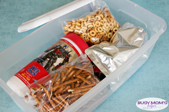 On-the-Go Snack Station with Wet Ones® #Ad #BTSWithWetOnes