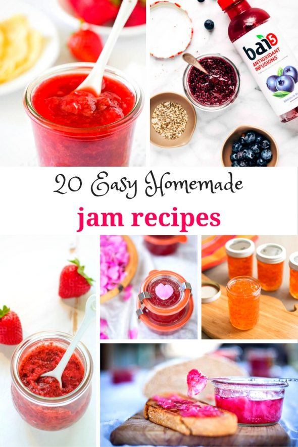 20 Easy Homemade Jam Recipes