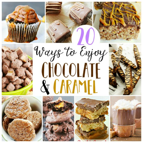 20 Chocolate and Caramel Recipes