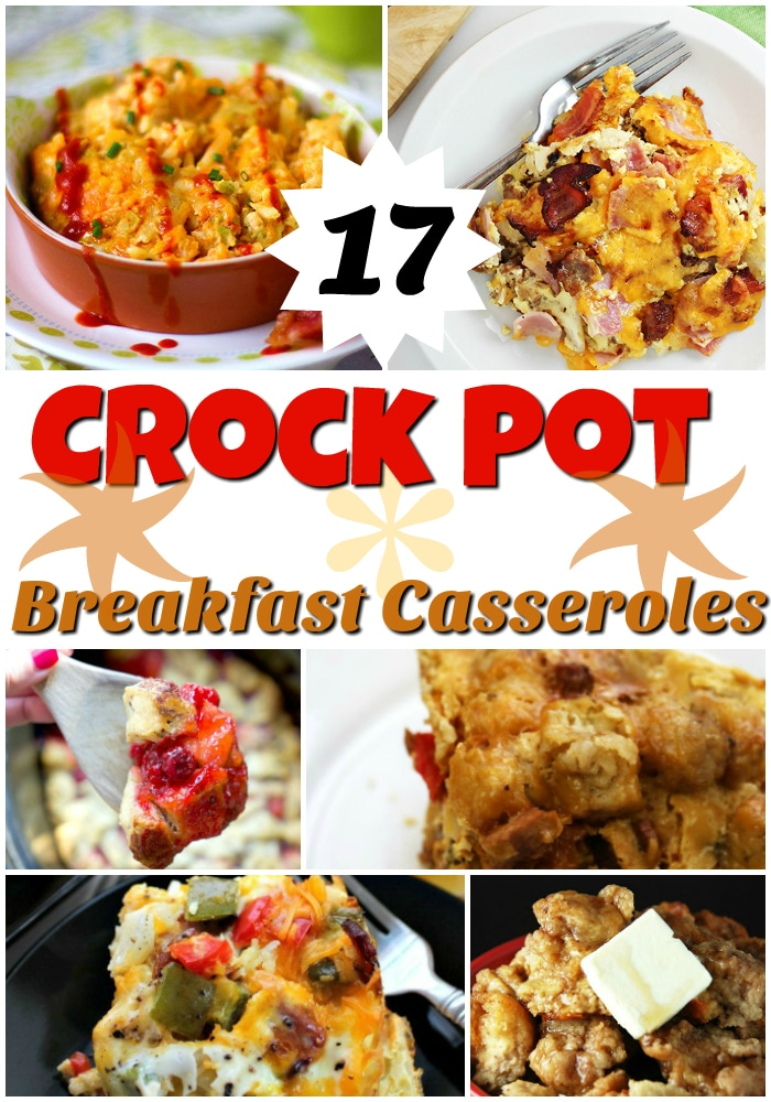 17 Crock Pot Breakfast Casseroles