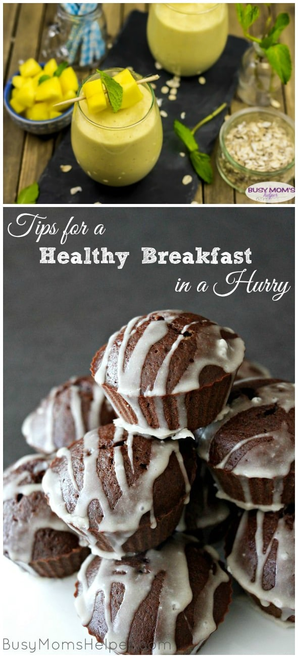 Tips for a Healthy Breakfast in a Hurry