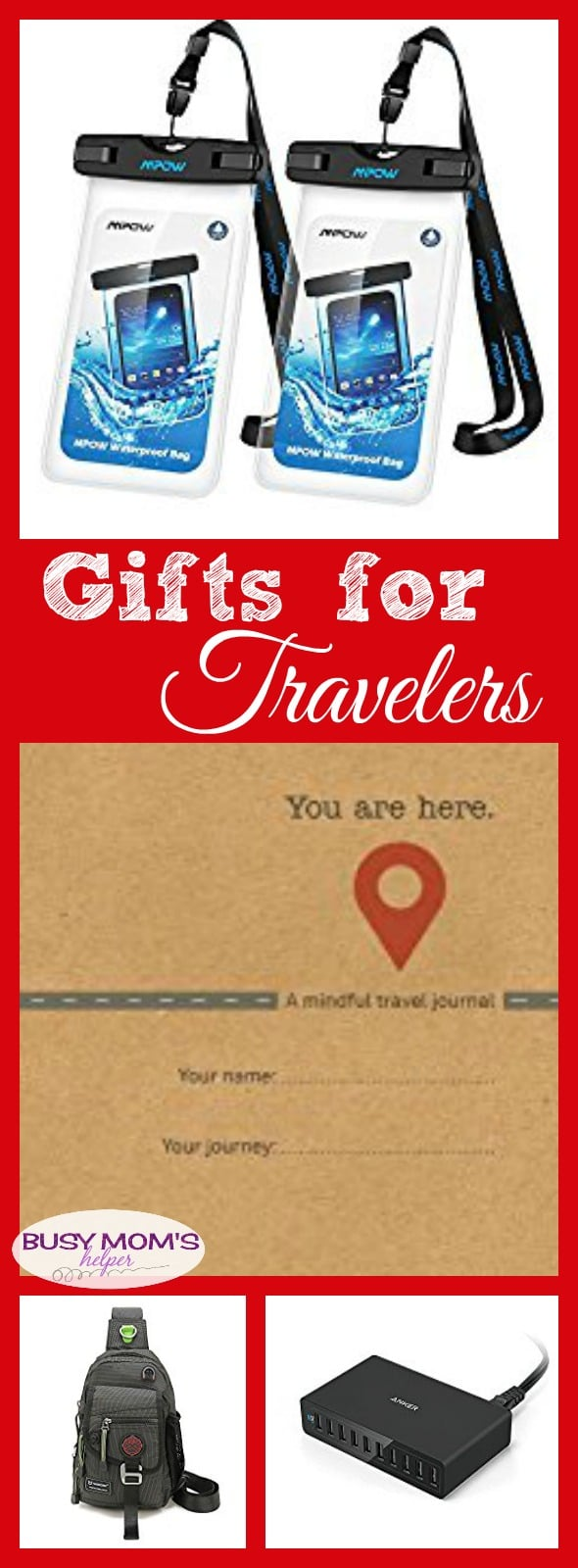 Gifts for Travelers: a 2017 holiday gift guide #ad