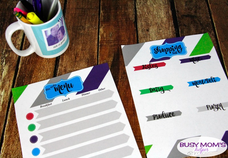 Family Home Binder Printables - keep all your family's important information in one, simple place with this helpful printable pack perfect for busy moms! There's pages for emergency contacts & plans, birthdays, medical and school information, budgets, weekly tasks and to do lists, menu and shopping lists, babysitter sheet & more! #printable #homebinder #familybinder #busymoms #homemanagement