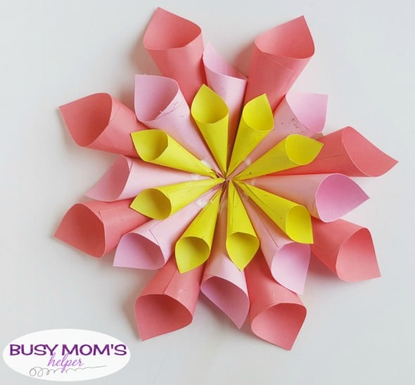 Diy Paper Flowers For Spring Busy Moms Helper