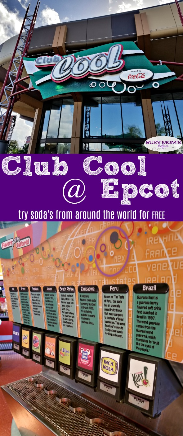Club Cool at Epcot in Walt Disney World Orlando / Try soda's from around the world for FREE! Try #thebeverly #waltdisneyworld #epcot #clubcool #travel #disneyworld #disney