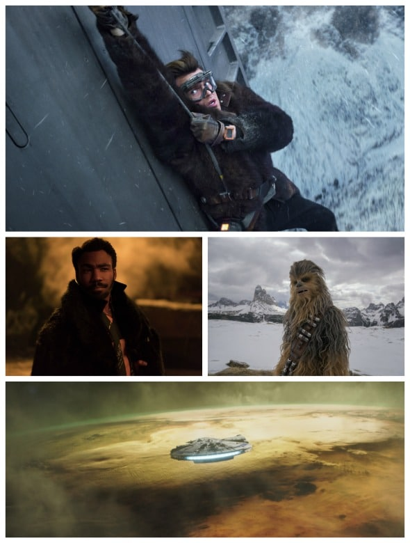 Solo: A Star Wars Story (the past of a scoundrel) #hansolo #starwars #movie #chewie #chewbacca