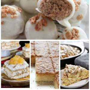 Delicious Cinnamon Desserts #recipe #food #dessert #snack #cinnamon #roundup #tasty