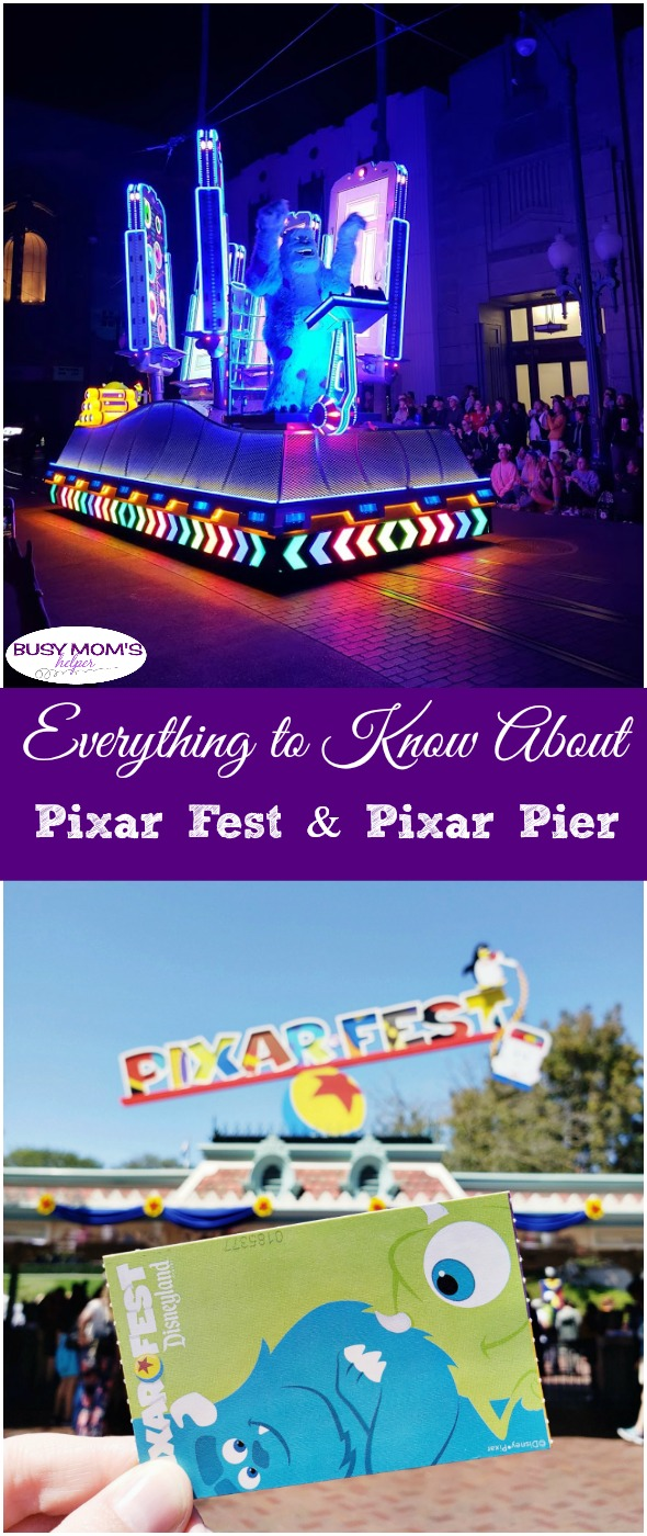 Everything to Know About Pixar Fest & Pixar Pier #disneyland #pixar #pixarfest #pixarpier #disney #travel #bmhtravel #disneytrip #familytrip #familyvacation #disneyvacation #california #californiaadventure