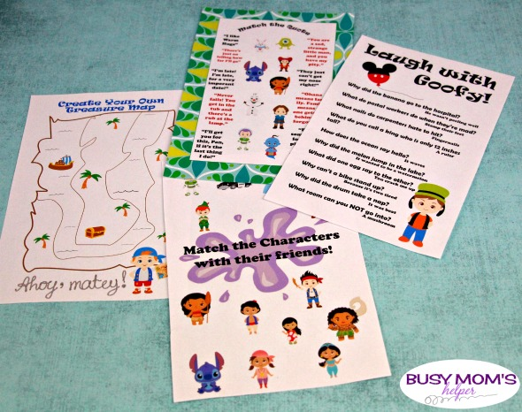 Printable Disney Aulani Activity & Autograph Pages #disney #disneyaulani #aulani #autographpages #printable #disneyactivities #disneyautograph #kids #travel #familytravel